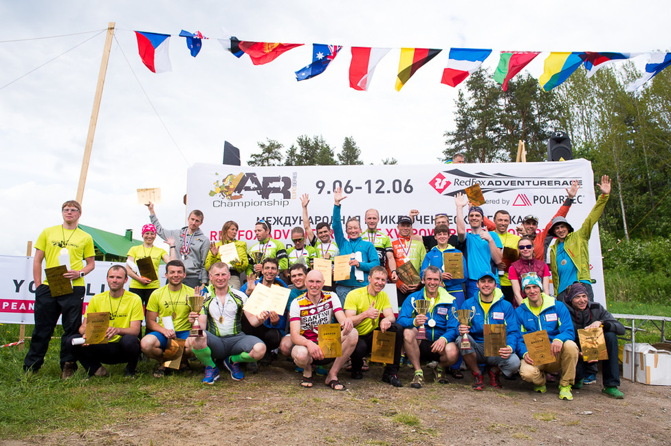 Results of AREC 2017 and Red Fox Adventure Race Long class