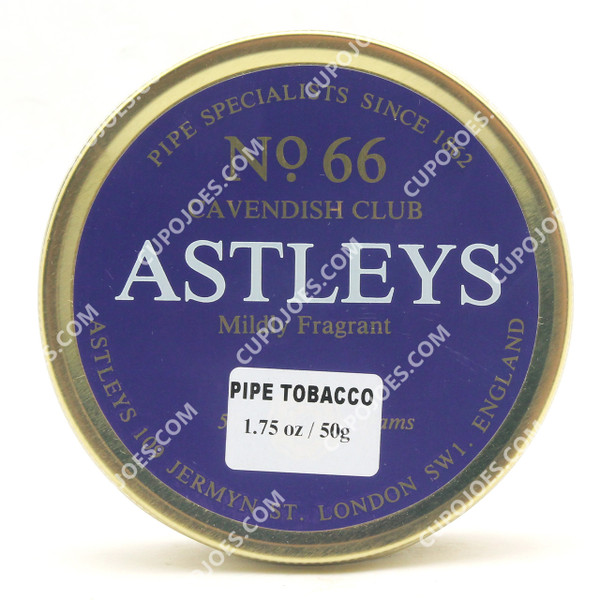 Astleys No. 66 50g Tin