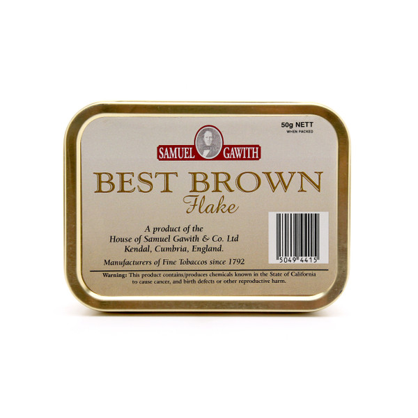 Samuel Gawith Best Brown 50g Tin