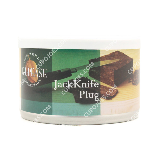 G.L. Pease Jack Knife Plug 2 Oz Tin