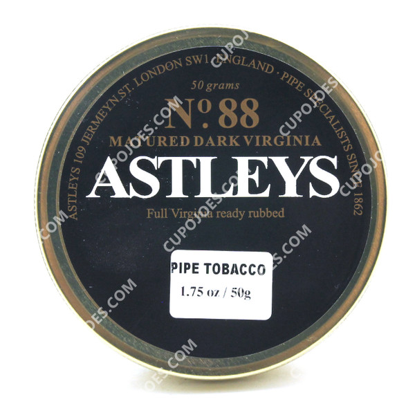 Astleys No. 88 Matured Dark Virginia 50g Tin