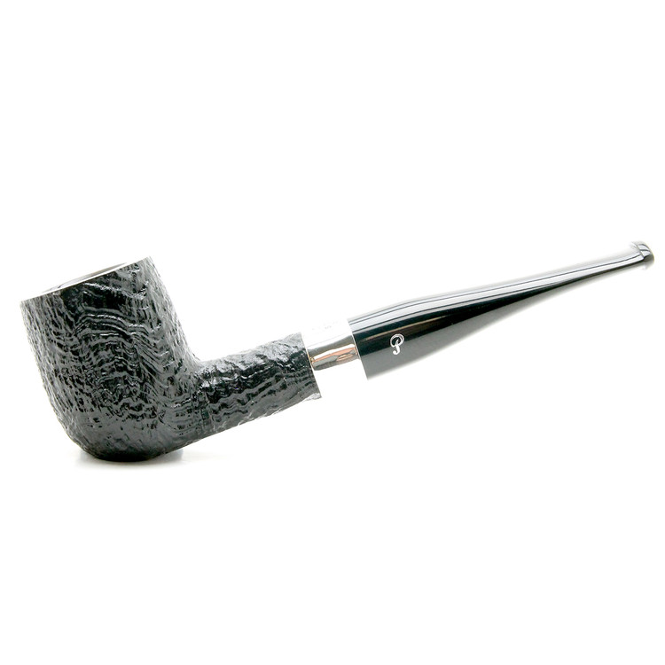 Peterson Kelly Sterling Black Sandblast Pipe #6 Fishtail