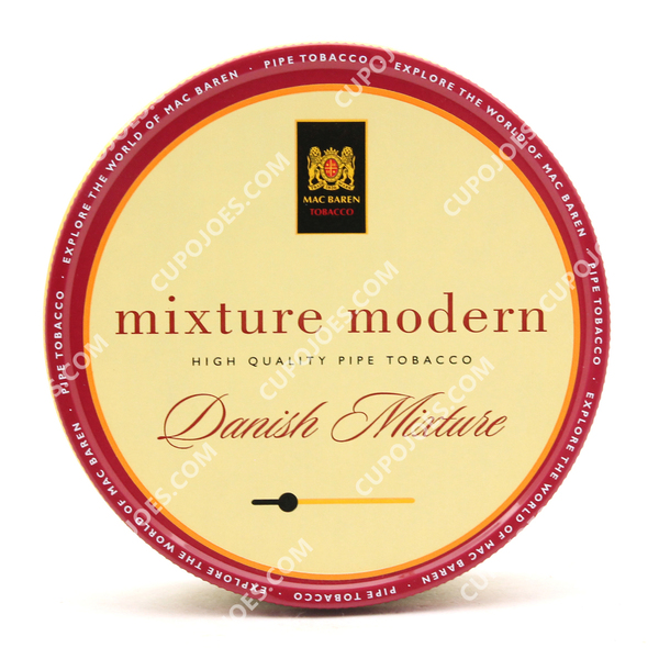 Mac Baren Mixture Modern Danish Mixture 3.5 Oz Tin