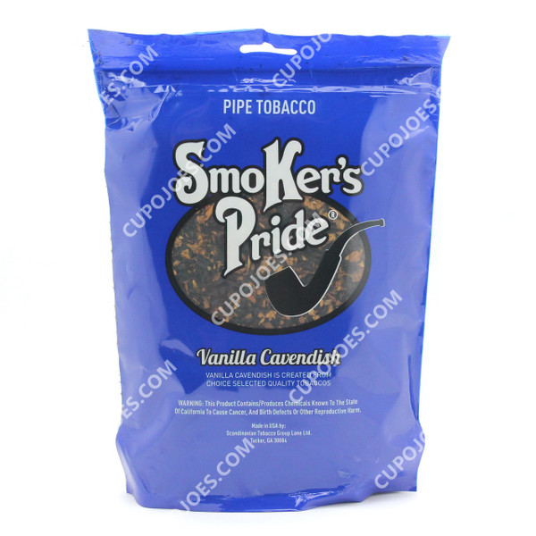 Smokers Pride Vanilla Cavendish 12 Oz Bag