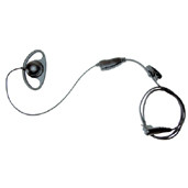 56517 Earpiece with In-Line PTT & Microphone