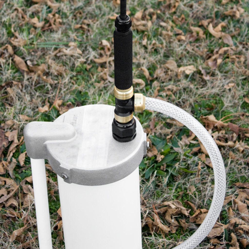 8-Inch Well Cap with EarthStraw Gripper