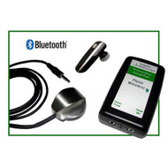 Sedation Stethoscope Piezo GREEN Bluetooth wireless precordial