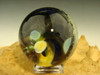Glass Art Outer Space Marble  Planet Moon Comet Lampwork Universe by Kenny Talamas