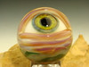 Glass Art Eyeball Marble Lampwork  Human Eye Freaky Oddity by K Talamas (made to order)
