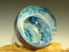 Dichroic Glass Vortex Marble Ocean Air trap Fibonacci Spiral by Tim Mazet VGW Ra