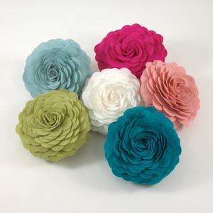 Eva's Flower Garden Decorative Throw Pillow