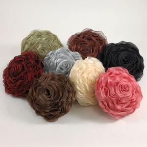 Hayley Rose Chiffon Decorative Throw Pillow