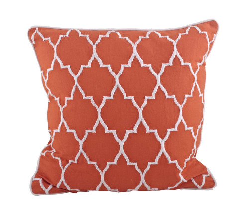 Domain Feather Filled Decorative Pillow : Stitched Moroccan Down Filled Decorative Throw Pillow