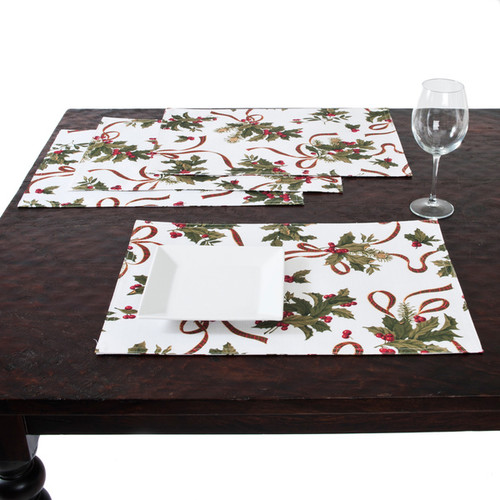 Holiday Decor Table Linen Placemat Page 1
