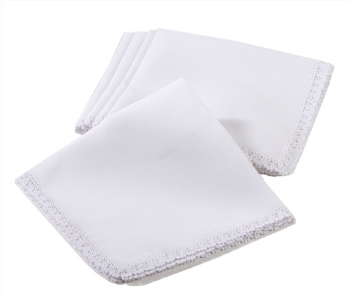 Fennco Styles Elegant 20-inch Cloth Napkins, Set of 4