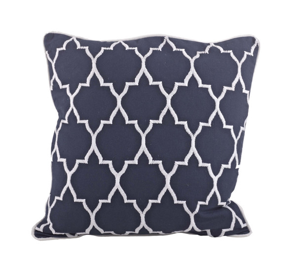 Throw Pillows Down Filled : Stitched Moroccan Down Filled Decorative Throw Pillow www.fenncostyles.com