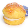 Café De N Double Cream Puff Dessert Squishy Toy Cellphone Charms