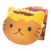 Cafe Sakura Animal Bread Halloween Party Yellow Pumpkin Mascot Squishy Toys Charms