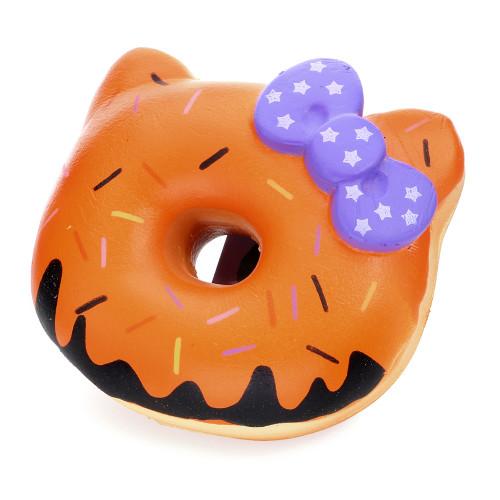 Squishy Donut Toy : Sanrio Cinnamoroll Pink Donut or Doughnut Squishy cute wares