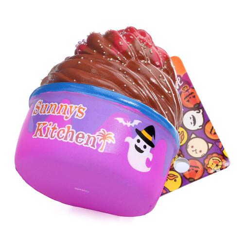 Sunny Kitchen Halloween Party Frozen Yogurt Nightmare Squishy Charms