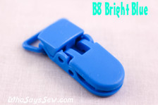 B8 KAM plastic resin dummy clips 2cm Who Says Sew