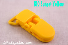 B10 KAM plastic resin dummy clips 2cm Who Says Sew