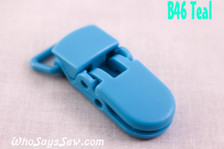 B46 KAM plastic resin dummy clips 2cm Who Says Sew