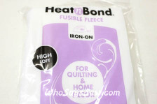HEATN'BOND IRON-ON FUSIBLE FLEECE