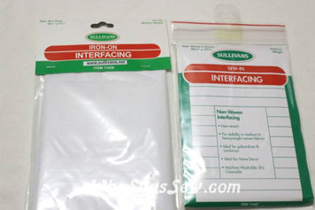 Medium Weight Iron-On AND Sew-In Interfacing Duo Packs. Made in Australia