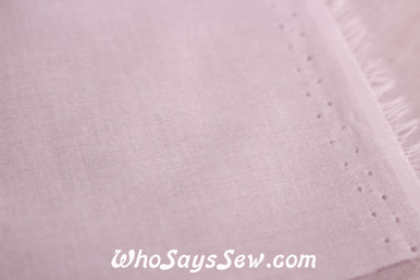 VILENE Iron-On Lightweight Soft Woven Cotton Interfacing in White
