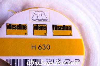 vilene H630 regular fusible fleece