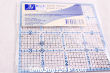 "4""x 4"" Quilt Square Ruler with Grids"