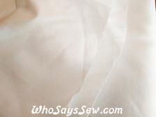 """150cm/60"""" Wide Pellon Shapeflex SF101 Iron-On All-Purpose Woven Cotton Interfacing in White"""