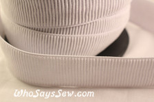 3.2cm ribbed non-roll elastic