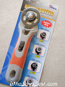 45mm Rotary Cutter with Cushion Grip and Safeguard