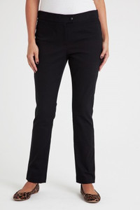 Cameron Stretch Cotton Straight Leg Pant