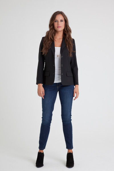 Natasha Stretch Wool Blazer