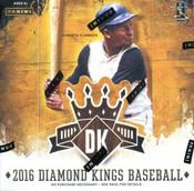 2016 Panini Donruss Diamond Kings Baseball Hobby Box