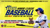 2016 Topps Heritage Minor League Baseball Hobby Box
