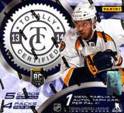 2013/14 Panini Totally Certified Hockey Hobby Box
