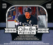2015/16 Upper Deck O-Pee-Chee Platinum Hockey Hobby Box