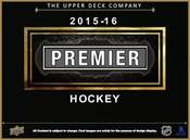 2015/16 Upper Deck Premier Hockey Hobby Box