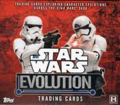 2015 Topps Star Wars Evolution Hobby Box