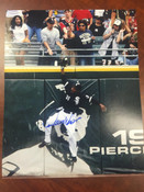DEWAYNE WISE - Chicago White Sox - AUTOGRAPHED 8x10 (The Catch)