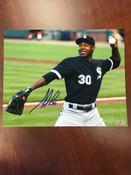 ALEJANDRO DE AZA - Chicago White Sox - AUTOGRAPHED 8x10