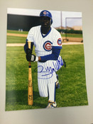 GARY MATTHEWS - Chicago Cubs - AUTOGRAPHED 8x10 (Posing)
