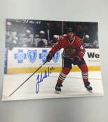 JOAKIM NORDSTROM - Chicago Blackhawks - Autographed 8x10 (Waiting for Puck)