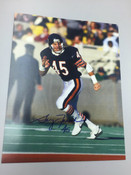GARY FENCIK - Chicago Bears - AUTOGRAPHED 8x10 (Running)
