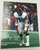 GARY FENCIK - Chicago Bears - AUTOGRAPHED 8x10 (Standing Facing Left)