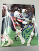 KEVIN BUTLER - Chicago Bears - AUTOGRAPHED 8x10 (Kicking / White Jersey)